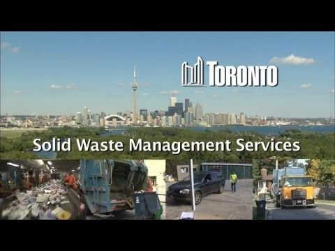 Planning For Tomorrow: Toronto's Long Term Waste Resource Management Strategy