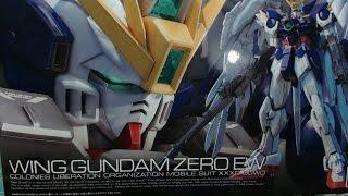 RG 1/144 Wing Gundam Zero EW Unboxing By Hobbywave.com