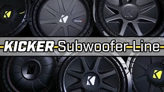 Entire Kicker Subwoofer Line!!!