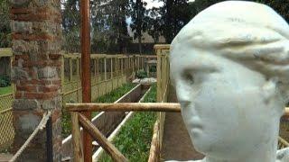 Pompei (NA) - Restaurate cinque domus con giardini (15.03.16)
