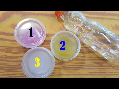 WATER SLIME !! Testing NO GLUE Water Slime Recipes!!
