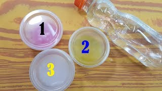 WATER SLIME !! Testing NO GLUE Water Slime Recipes!!
