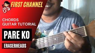 Baixar Pare Ko Chords (Eraserheads) Pareng Don Guitar Tutorial