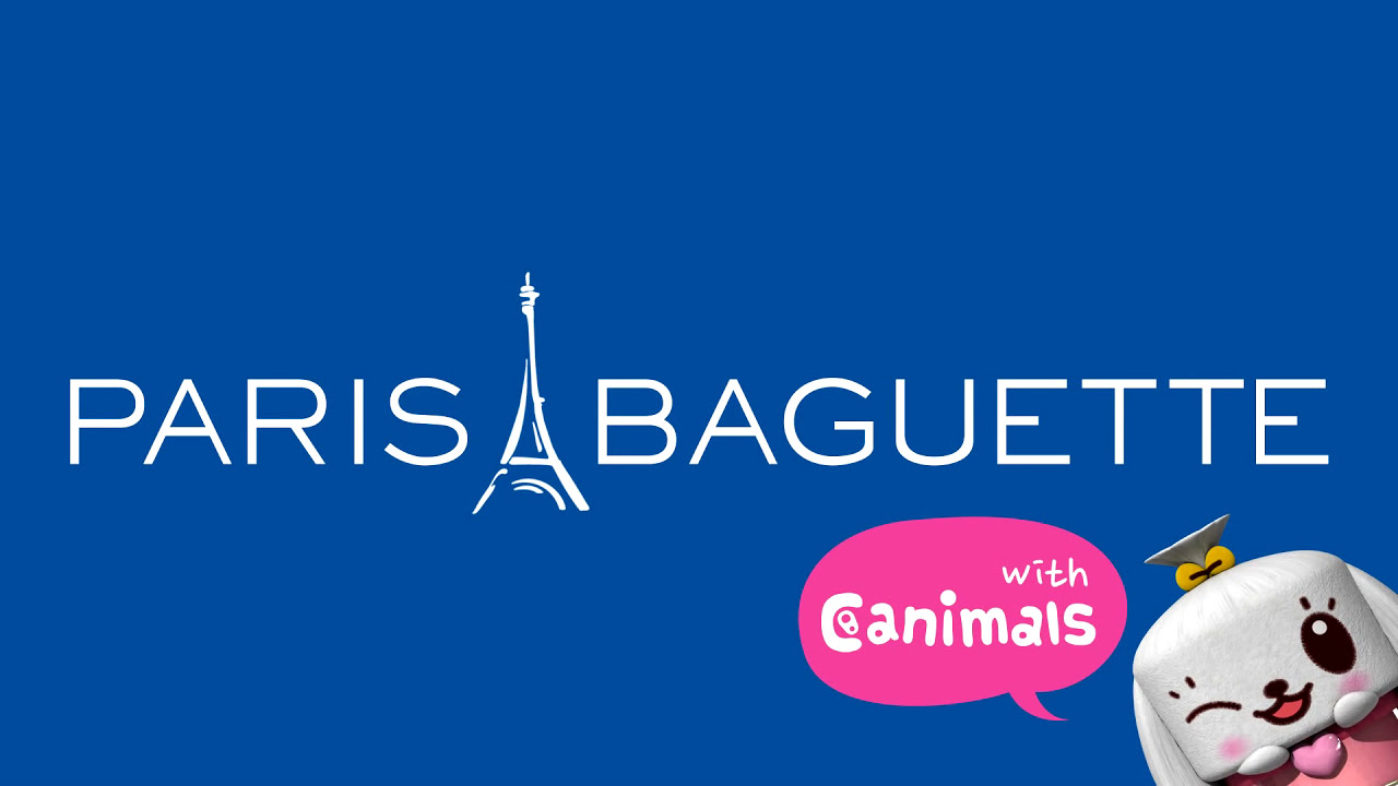 Paris Baguette With Canimals Youtube