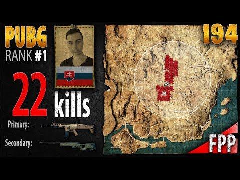 PUBG Rank 1 - StrengeTV 22 kills [NA] DUO FPP - PLAYERUNKNOWN'S BATTLEGROUNDS #194