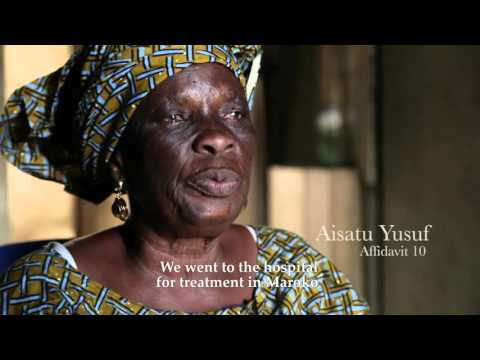 Maroko Evictees Committee Video for African Commission on Human and Peoples' Rights HD