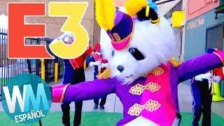 ¡Top 10 PEORES Momentos del E3 2018!