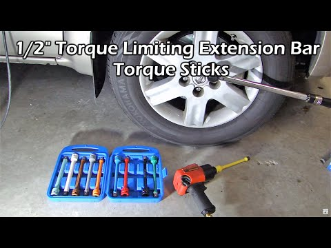 "1/2"" Torque Limiting Extension Bar Set - Torque Sticks"