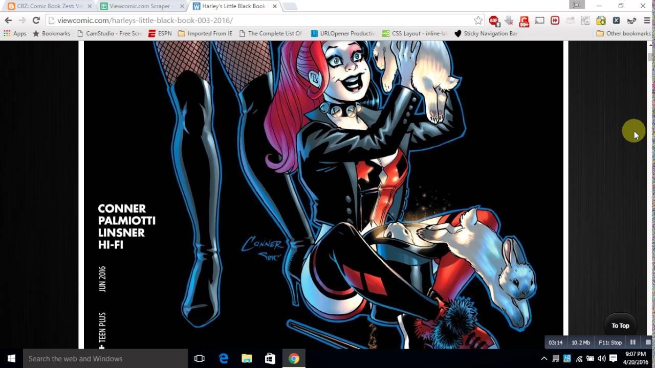 Comic Book Scraper Scrape Books from ViewComic com and Download as a PDF