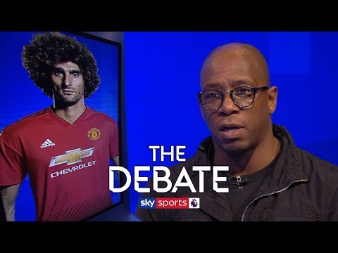 Is Marouane Fellaini the key for Man United? | The Debate | Higginbotham and Wright