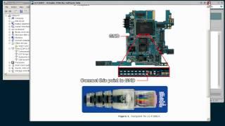 LG F160LV Repair via USB with Octoplus JTAG