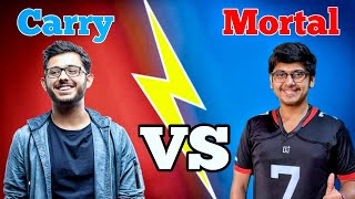 Carryislive Vs Mortal   Who is Best? or beastBoy Shub, Dynamo Gaming   Best Gaming channels in India