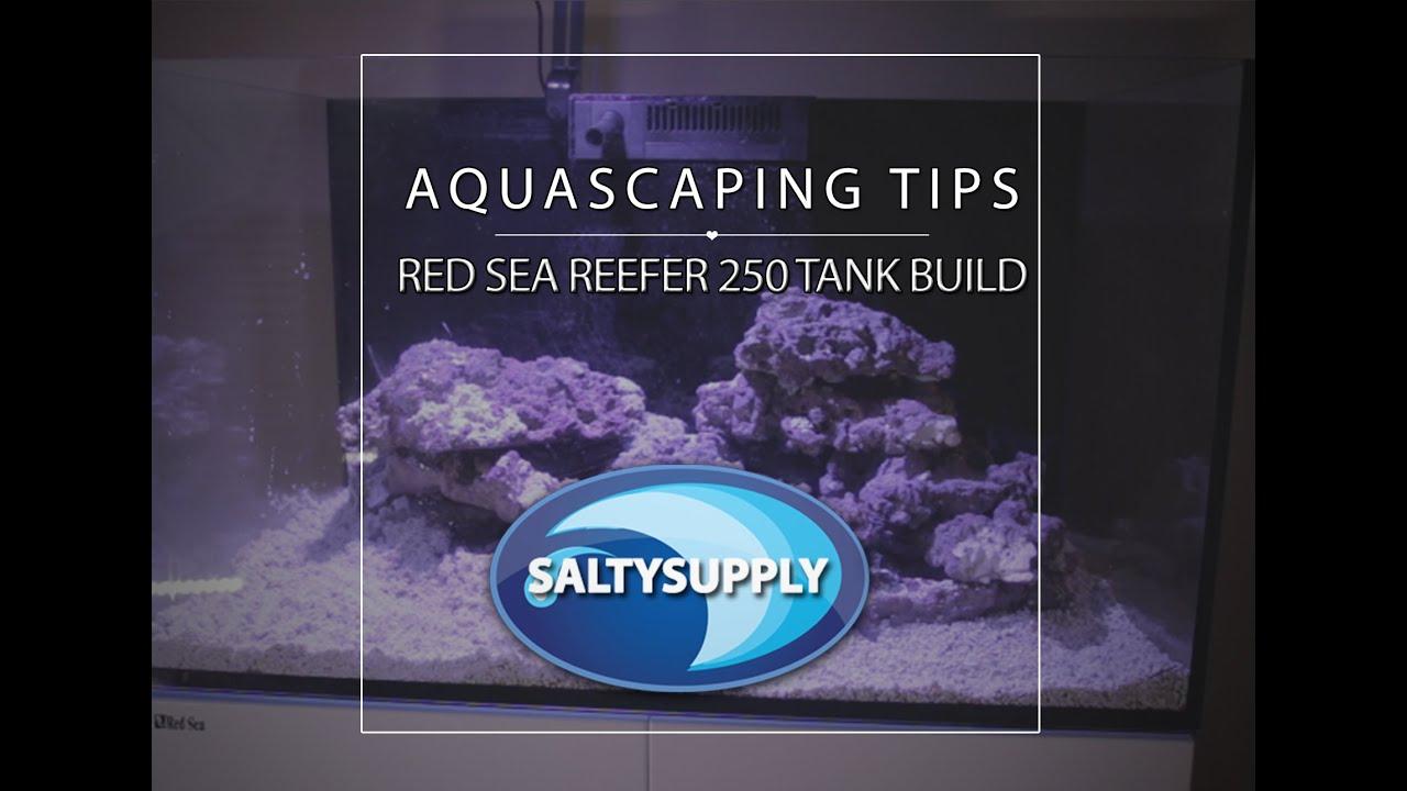 Salty Supply Tank Build Part 3   Reef Aquascaping   CaribSea LifeRu2026    YouTube