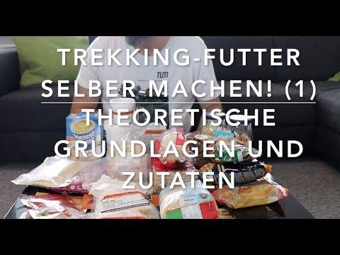 Trekking Futter selber machen (1) -  Grundlagen und Zutaten