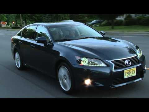 2013 Lexus GS 450h Drive Time Review with Steve Hammes