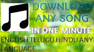 Best app to download songs in any language