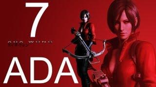 Resident Evil 6 walkthrough - part 7 HD ADA walkthrough gameplay RE6 Full ada walkthrough