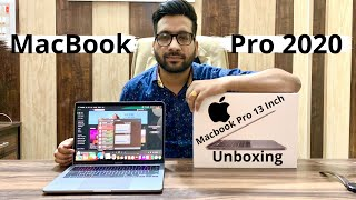 New Apple MacBook Pro 13 Inch 2020 Unboxing Review In Hindi   India by Dinesh Jangid