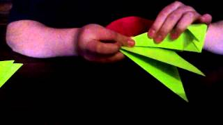 How To Make A Origami F15 Jet