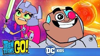 Teen Titans Go! in Italiano | Tutti nello spazio! | DC Kids