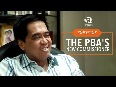 Rappler Talk: The PBA's New Commissioner