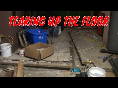 TEARING UP THE FLOOR