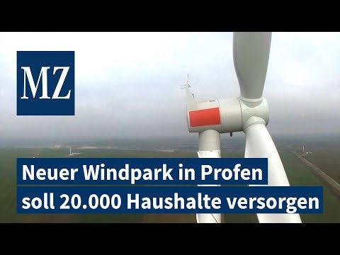 Neuer Windpark in Profen soll 20.000 Haushalte versorgen