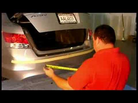 Back Up Sensors >> AutoSonar Reverse Backup Sensors Installation 01 - YouTube