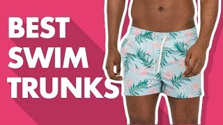 cHOICE OF SWIMMING TRUNKS AND BATHING SUIT. HOW TO LEARN IT IS CORRECT TO FLOAT?