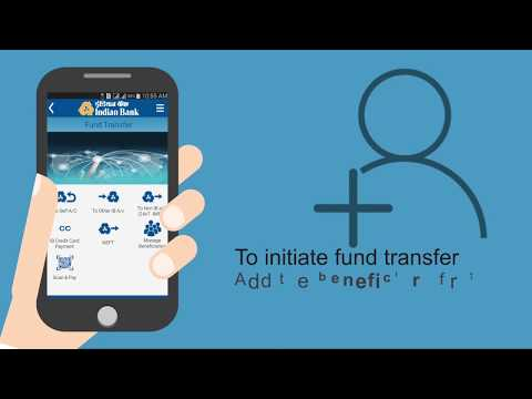 Indian Bank -  How To Add Beneficiary In IndPay App