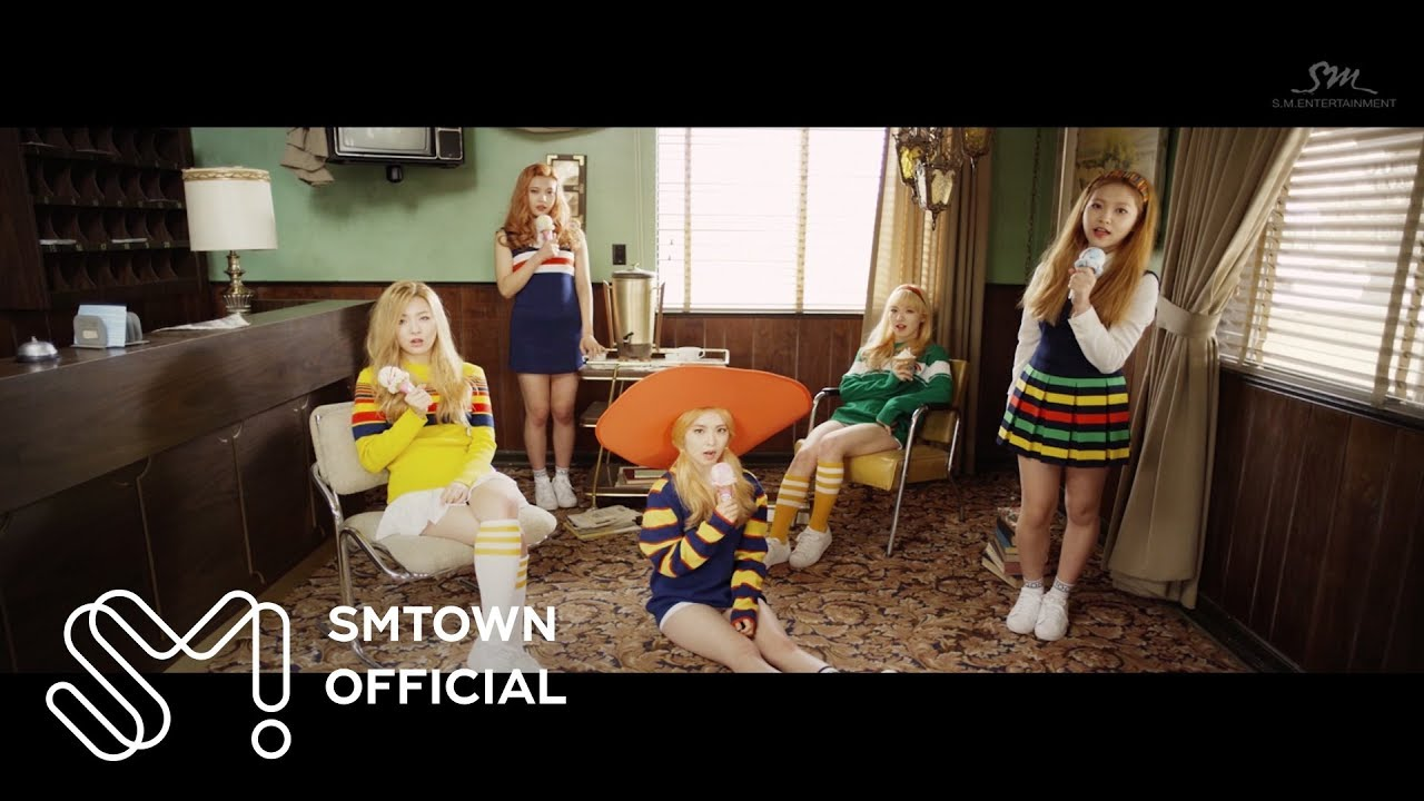 Red Velvet 레드벨벳 Ice Cream Cake Mv Youtube