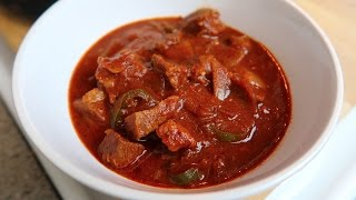 Easy Crock Pot Steakhouse Chili Con Carne - Easy Recipe Eps #31