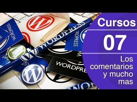 Curso de Wordpress (7) | Los comentarios, pingbacks y trackbacks en WordPress
