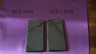 Xiaomi Mi Mix 2s vs Xiaomi MI Mix 2: Comparison