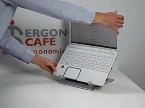U TOP Laptop Stand with built-in document holder