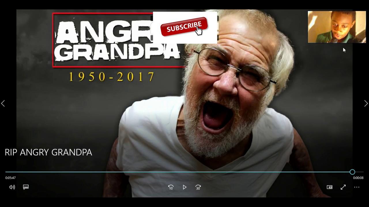 Angry grandpa hates charlie sheen