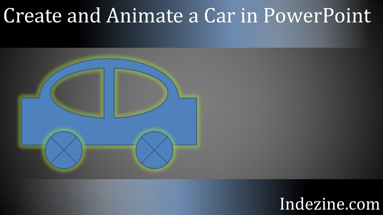 Create and Animate a Car in PowerPoint - YouTube