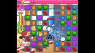 How to beat Candy Crush Saga Level 444 - 3 Stars - No Boosters - 152,280pts