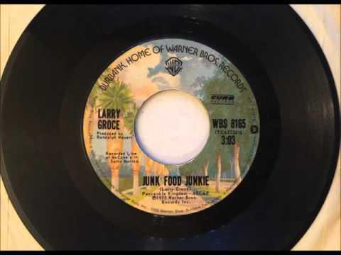 Junk Food Junkie , Larry Groce , 1976 Vinyl 45RPM