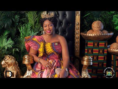 First Lady of Sierra Leone H.E. Fatima Maada Bio on the International Women Of Power Red Carpet