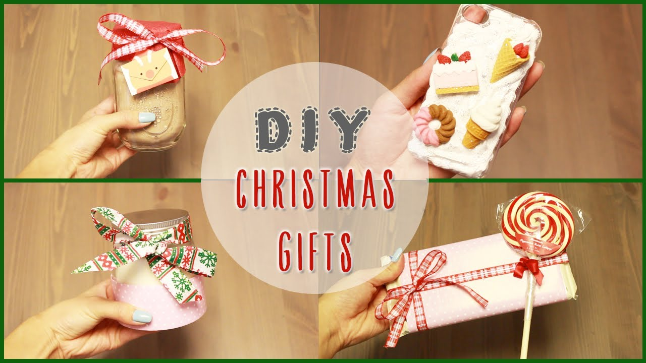 Diy 5 easy diy christmas gift ideas ilikeweylie youtube solutioingenieria