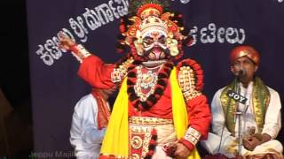 yakshagana - devi mahtme Patla Sathish Shetty at jeppu majila m