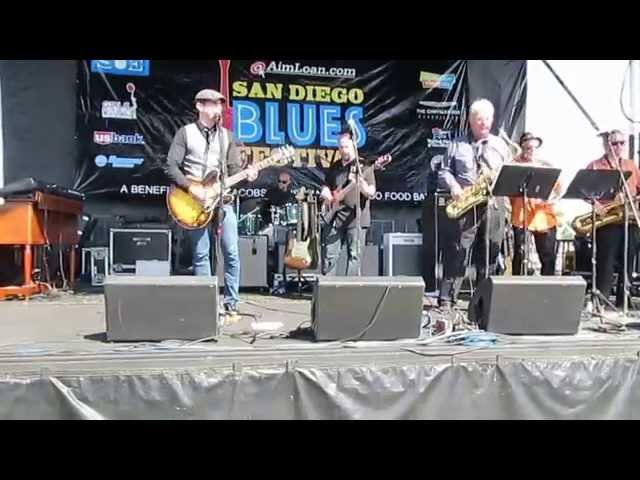 "Kevin Selfe & The Tornadoes, ""Pack It Up"" San Diego Blues Festival 2014"