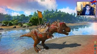 T-REX TIME! - Ark Survival Of The Fittest #3 - Ark Hunger Games