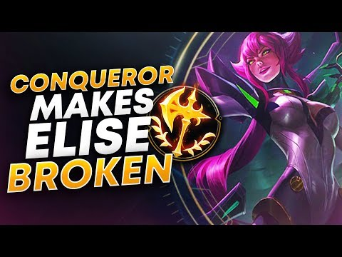 RANK 1 ELISE TRIES CONQUEROR (HOW TO CARRY) | League of Legends