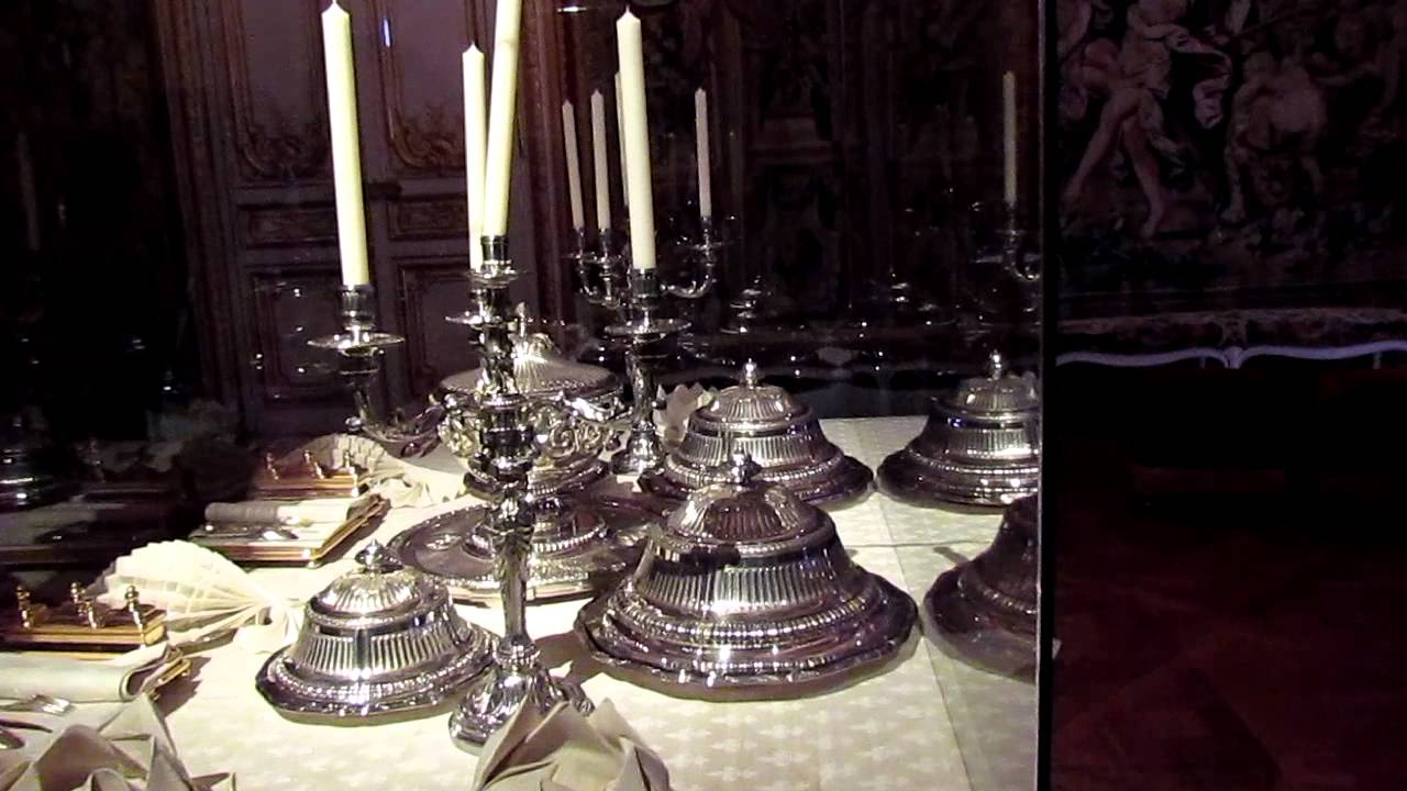Table Royale A Versailles Palace Of Versailles Royal Table Youtube