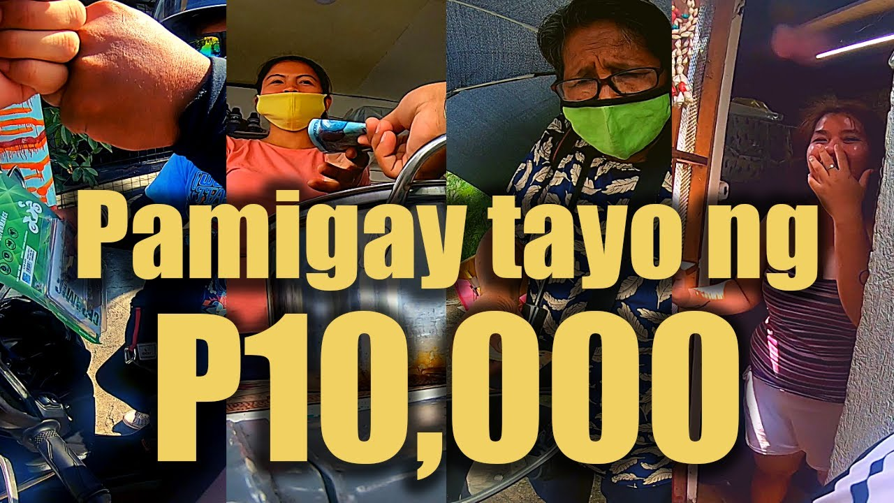 P10,000 worth of PRIZES   Blessed Sunday 50k SUBS!