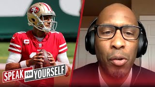 Jimmy G can't control 49ers offense, Cam Newton is the better QB - Bucky | NFL | SPEAK FOR YOURSELF