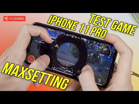 TEST Game Trên iPhone 11 Pro - Apple A13 Cân Maxsetting Game Siêu Mượt, Nhưng Qúa Nóng!