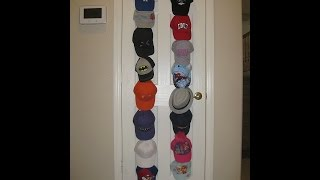 REVIEW:  Baseball Cap Rack Storage by #BloodlineSports #HatRack